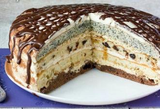 Торт с маком «Королева»