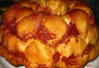 Божественный «Обезьяний» хлеб с сыром и чесноком