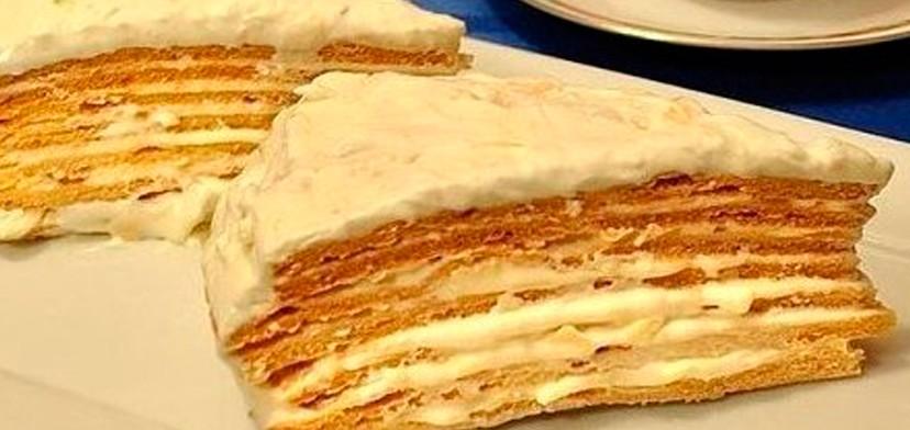 Торт «Парижский коктейль»