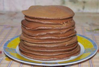 Шоколадные Чоко–панкейки на завтрак. Готовьте побольше, расхватают!