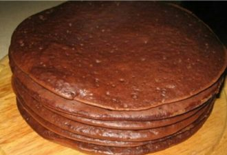 Обалденные коржи для торта на сковороде