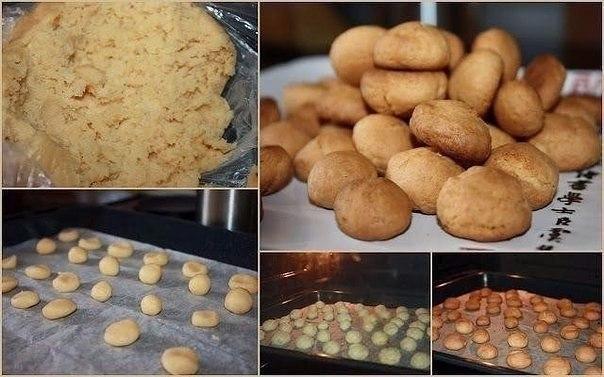 Бисквитное печенье для детей — нежное, рассыпчатое и очень вкусное!