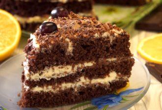 Самый быстрый вкуснейший торт: за 20 минут вместе с выпечкой