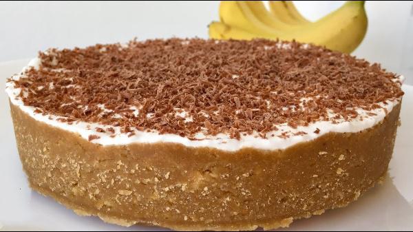Торт «Баноффи». Восхитительный банановый десертик без выпечки. Рекомендую!