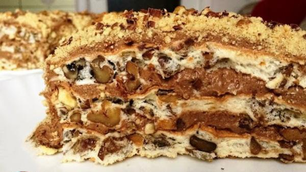 Королевский сливочный торт без муки. Этот вкус не передать словами!