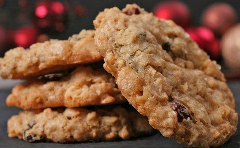 Диетическое печенье из овсянки за 15 минут