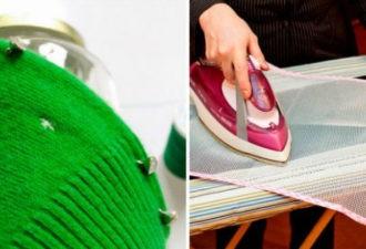 Гениальный способ устранения дырок, который даже не потребует использования нитки и иголки