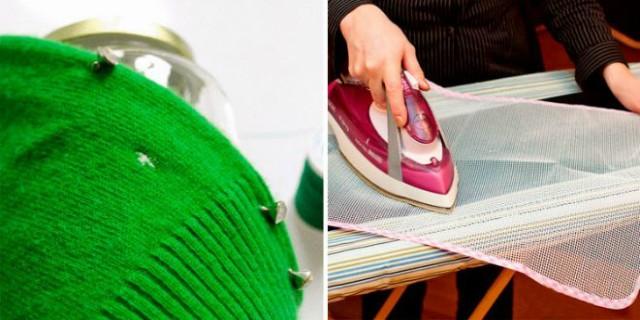 Гениальный способ устранения дырок на одежде без ниток и иголок
