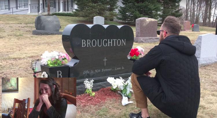 Ее отец умер 9 лет назад. Однажды она увидела, что на его могиле преклонил колено тот, кто никогда его не знал