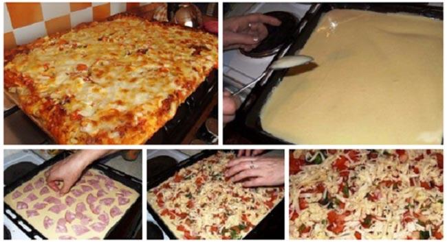 Простой рецепт пышной домашней пиццы в духовке. Всегда пеку только так — объедение!