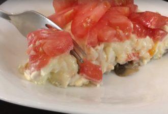 Вкуснейший салат «Любимый муж». Буквально исчезает со стола!
