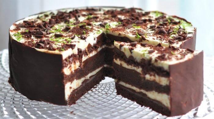 Очень нежный и вкусный торт «Шоко-лайм»