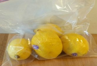 Благодаря этому трюку лимоны будут оставаться свежими в течение целого месяца! Теперь мои лимоны остаются свежими до 4х недель!