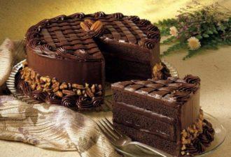 Шикарный, красивый, вкусный и очень сытный торт «Черная магия»