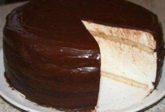 Изумительно вкусный и фантастически красивый воздушный торт Эскимо