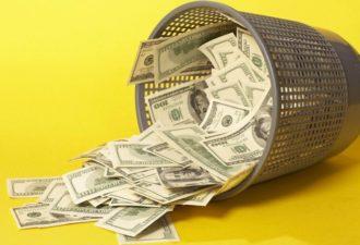 Американка выбросила в мусор более миллиона долларов