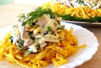 Праздничный салат «Загадка»: просто объедение