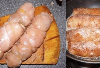 Куриные рулетики «Боярские» покорят гостей своим нежным вкусом