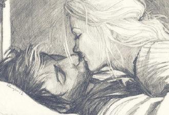 """""""Он приносил ей тёплые носки, а утром приносил ей чашку чая"""""""
