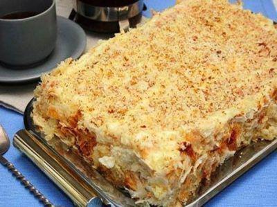 Торт королей по простому рецепту. Съедается с огромным удовольствием