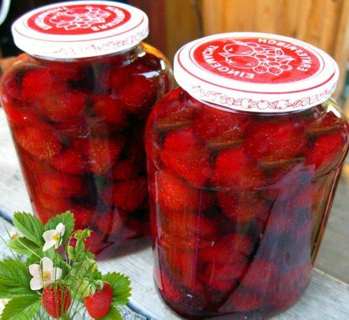 Клубничное варенье без варки ягод - самое полезное и вкусное!