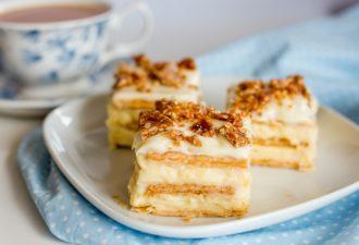 Торты без выпечки из печенья. 5 лучших рецептов