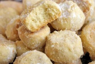 Печенье «Тающий снег». Оно рассыпчатее всех рассыпчатых печений