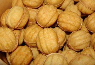 Печенье «Орешки». Любимые с детства