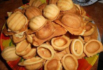Тесто для вкусных песочных орешков