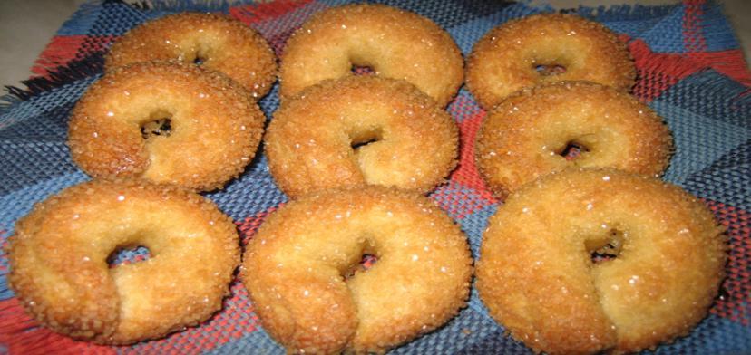 Домашнее печенье «Сахарные колечки»: очень вкусно, быстро и дёшево. Класс!