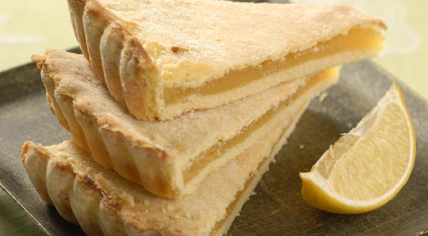 Песочный лимонный пирог. Не выпечка, а прелесть