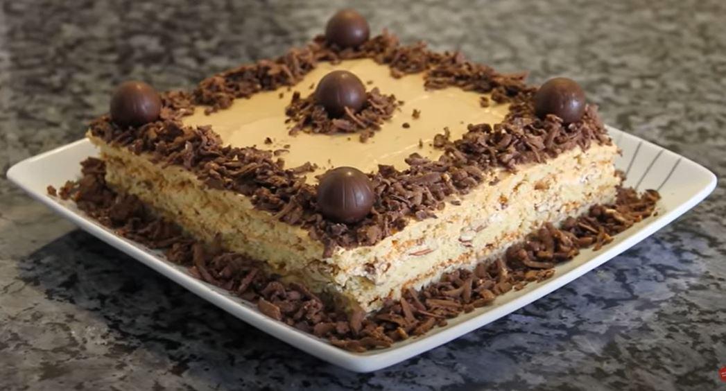 Киевский торт по необычному семейному рецепту. Это что-то невероятное!
