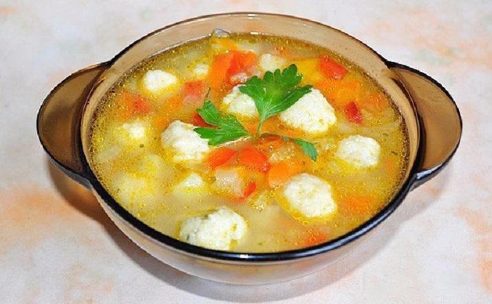 Самый обалденный суп с сырными шариками: нежный и вкусный