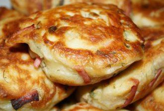 Пирожки жареные вкусные «По сусекам»