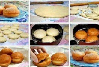 Самые вкусные и мягкие дрожжевые пончики