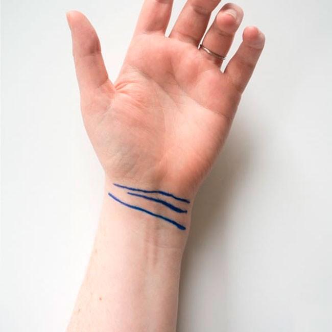 Сколько линий у вас на запястье? 2, 3 или 4? Узнайте, что это значит