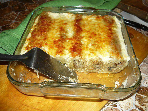 Шикарные драники, запеченные с грибами - новый вкус старого блюда