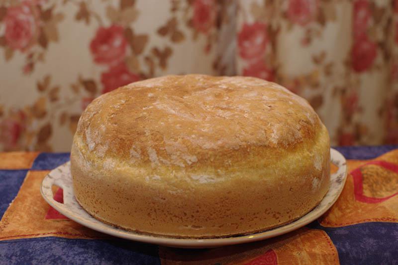 Пышный домашний хлебушек по рецепту моей свекрови