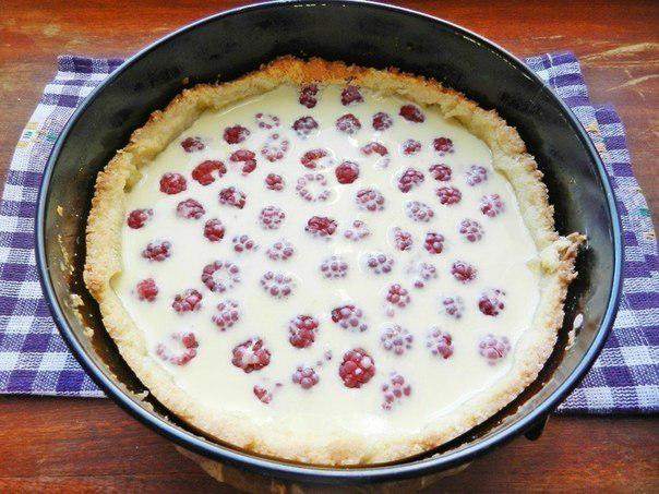 Этот рецепт у меня больше 10 лет: Самый Нежный Малиновый пирог «Ангелочек»