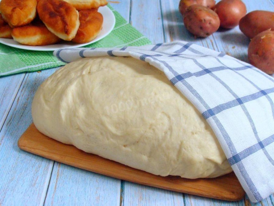 Пирожки на картофельном отваре. Неожиданно вкусный результат!