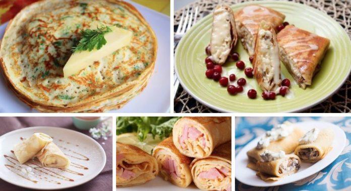 Мы собрали для вас лучшие рецепты блинчиков: ТОП-5 самых вкусных вариантов