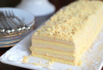 Торт «Славянка» с невероятным вкусным кремом, нежнейшим и не совсем обычным!