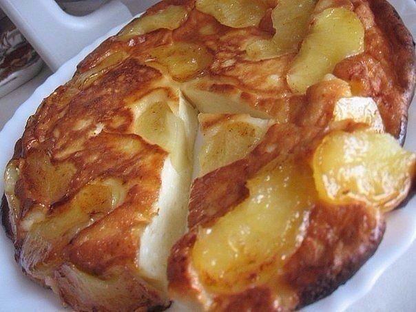 Творожно-яблочный чудо завтрак — вкусный и полезный!