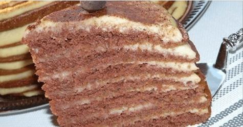Вкуснющий и очень простой торт — Не рецепт, а сказка!