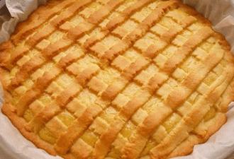 Песочный лимонный пирог. Выпечка, прелесть