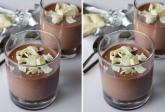Настоящее наслаждение — Шоколадная Паннакотта