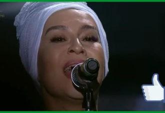 «Верните память» в исполнении Наргиз. Люди друг за другом начали подниматься сквозь слезы!