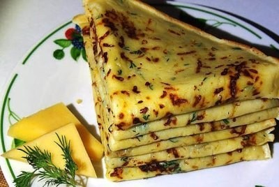 Сырные блинчики с зеленью это очень просто и супер вкусно!