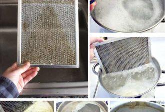 11 способов очистки вытяжки и других поверхностей от копоти . Мгновенное устранение всех загрязнений!