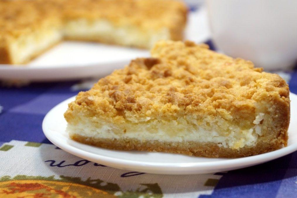 Песочный пирог с творогом: необыкновенно нежный и вкусный
